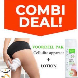 ✅ Combi Deal : Anti Cellulite Apparaat + 300ml Anti Cellulite Lotion